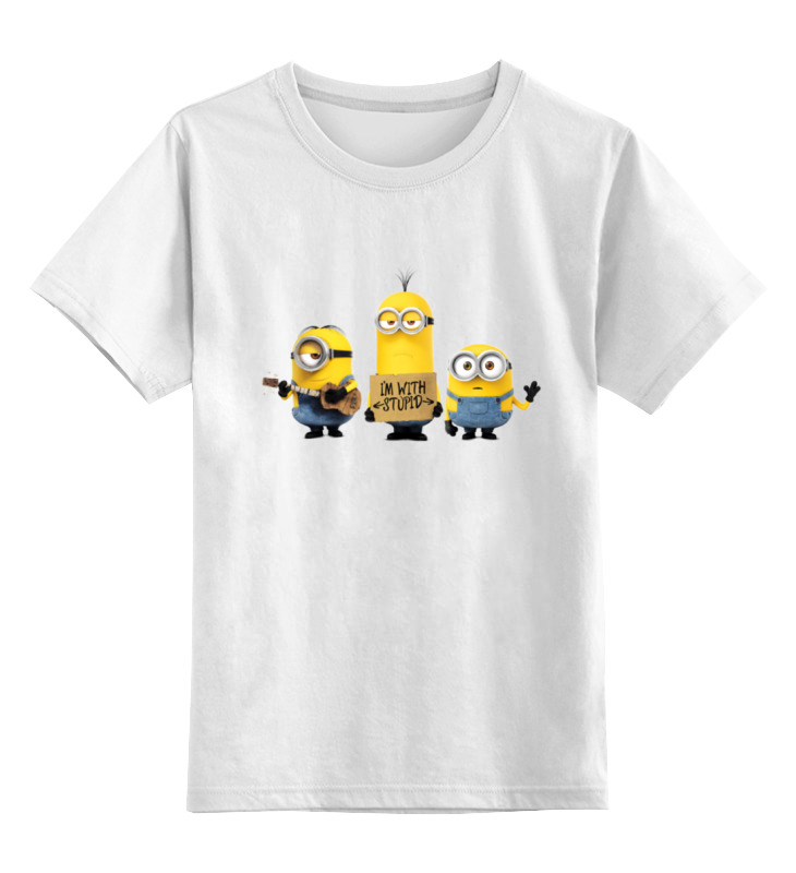 Printio Minions i'm with stupid цена