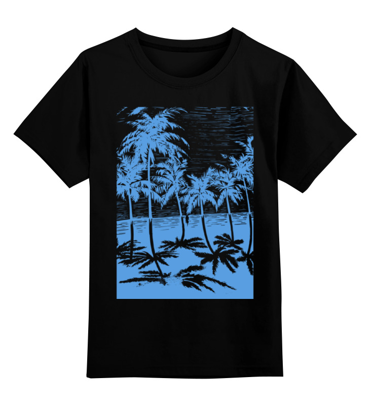 Фото - Детская футболка классическая унисекс Printio Пальмы юбка в складку printio пальмы