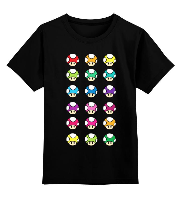 Printio Грибы из марио детская футболка классическая унисекс printio грибы между нами тает лёд