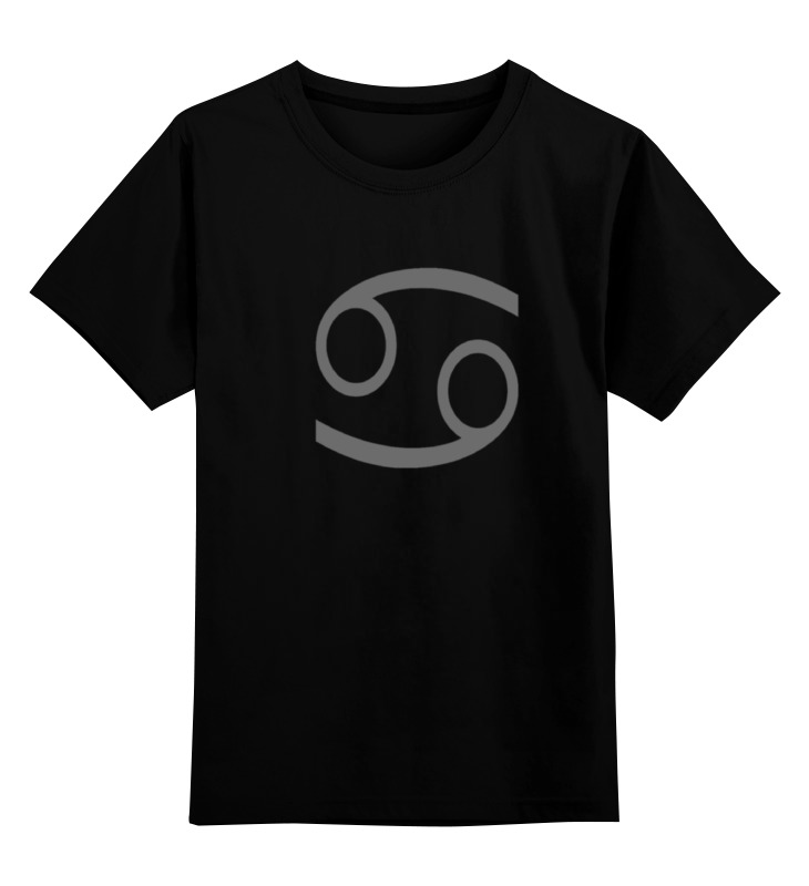 где купить Детская футболка классическая унисекс Printio Черная каркат по лучшей цене