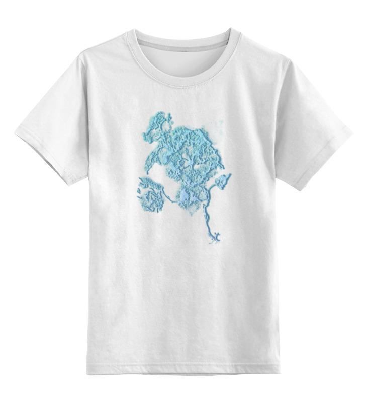Детская футболка классическая унисекс Printio Ажурный шиповник sandro белый ажурный кардиган