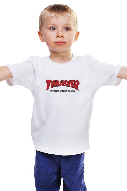 Детская футболка классическая унисекс Printio Thrasher детская футболка классическая унисекс printio мачете