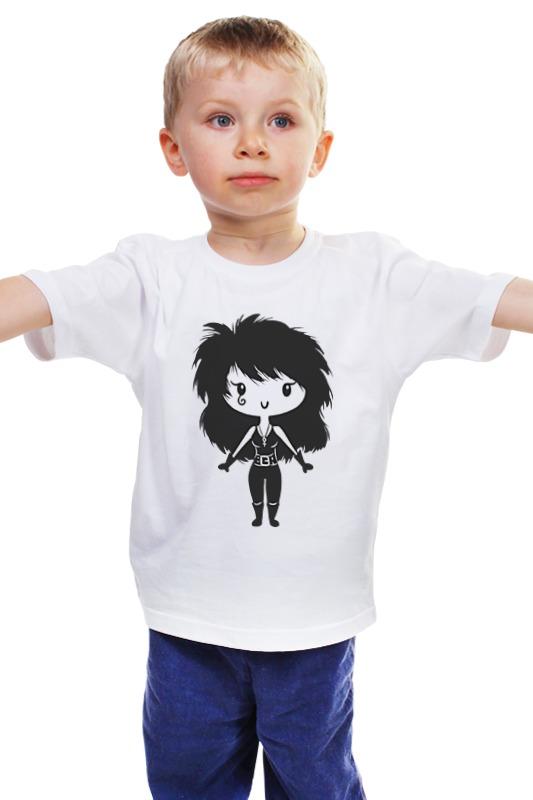Детская футболка классическая унисекс Printio Смерть