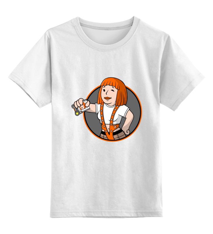 Детская футболка классическая унисекс Printio Пятый элемент (the fifth element) the fifth letter