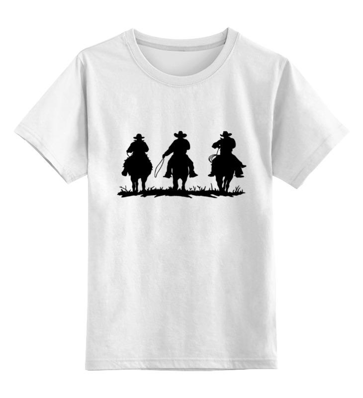 Детская футболка классическая унисекс Printio Ковбои футболка wearcraft premium printio ковбои