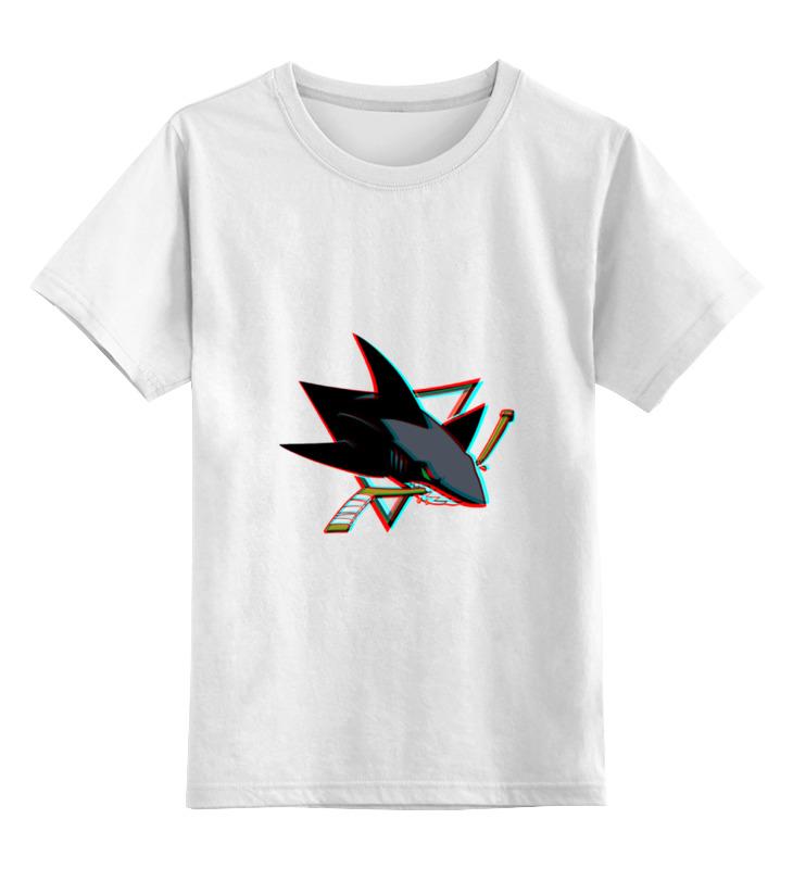 Детская футболка классическая унисекс Printio San jose sharks майка классическая printio san jose sharks сан хосе шаркс