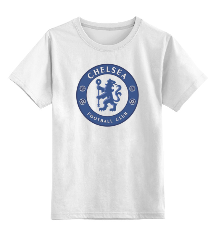 Детская футболка классическая унисекс Printio Chelsea fc лонгслив printio chelsea fc
