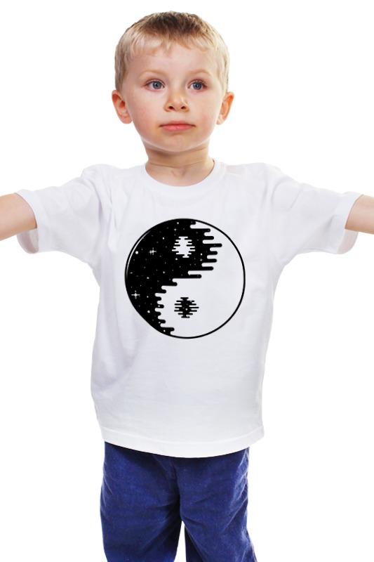 Детская футболка классическая унисекс Printio Инь янь инь янь подарки в спб