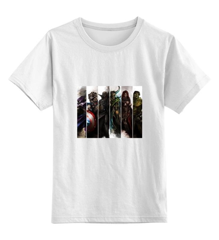 Детская футболка классическая унисекс Printio Мстители зомби футболка рингер printio мстители зомби