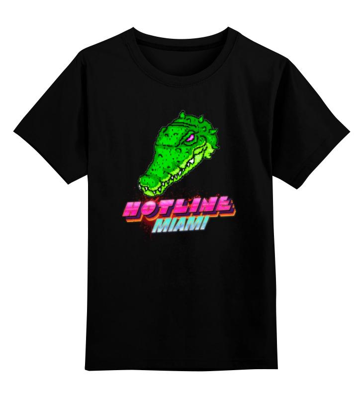 Детская футболка классическая унисекс Printio Hotline miami футболка hotline miami