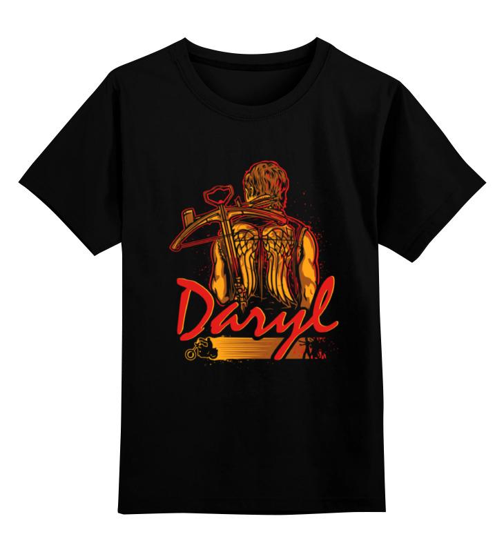 все цены на Детская футболка классическая унисекс Printio Daryl (the walking dead) онлайн