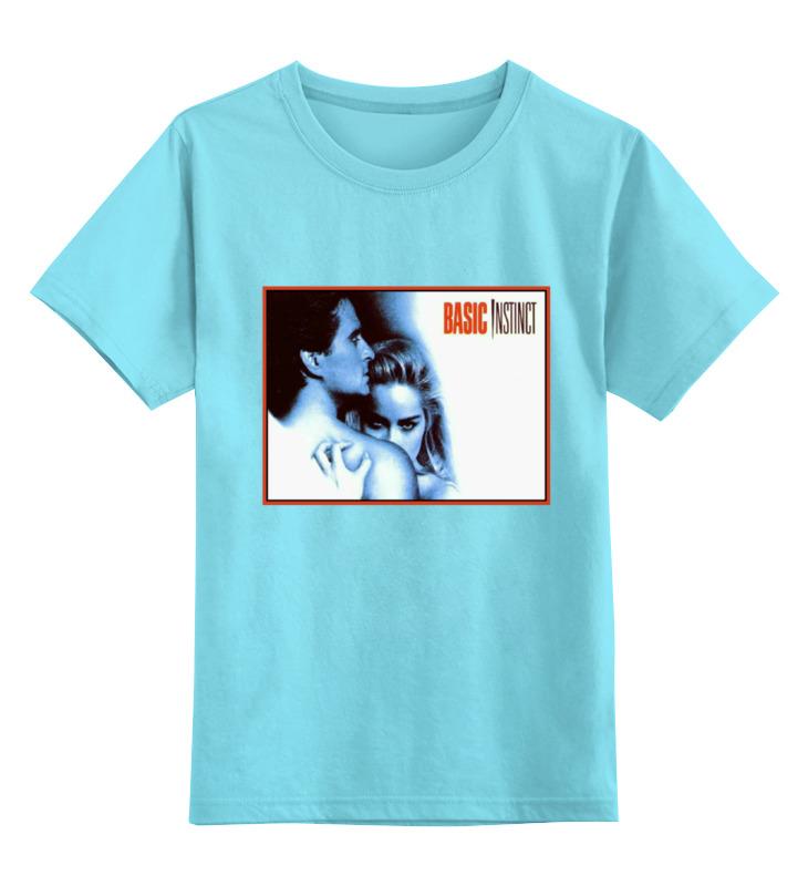 Детская футболка классическая унисекс Printio Основной инстинкт основной инстинкт охота в намибии