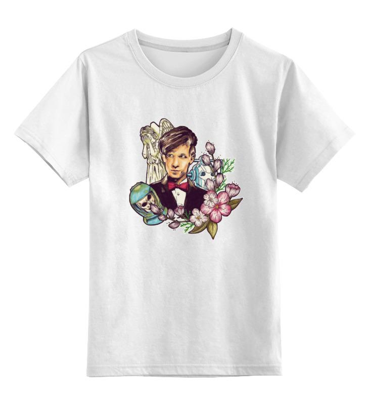 Детская футболка классическая унисекс Printio 11-ый доктор кто цена и фото
