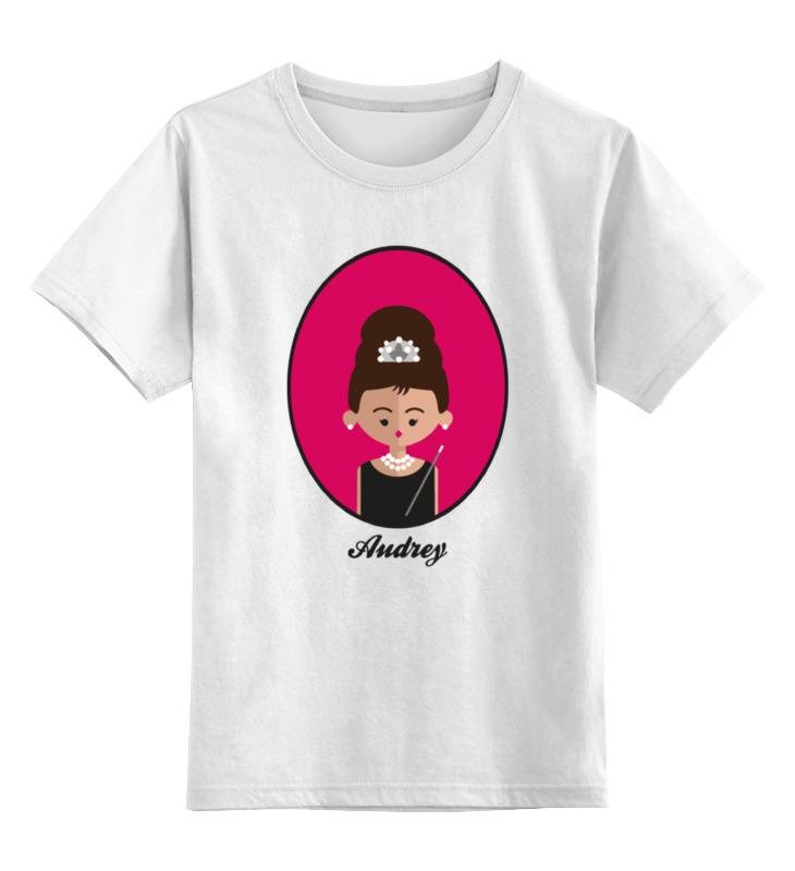 Детская футболка классическая унисекс Printio Одри хепбёрн детская футболка классическая унисекс printio одри хепбёрн audrey hepburn