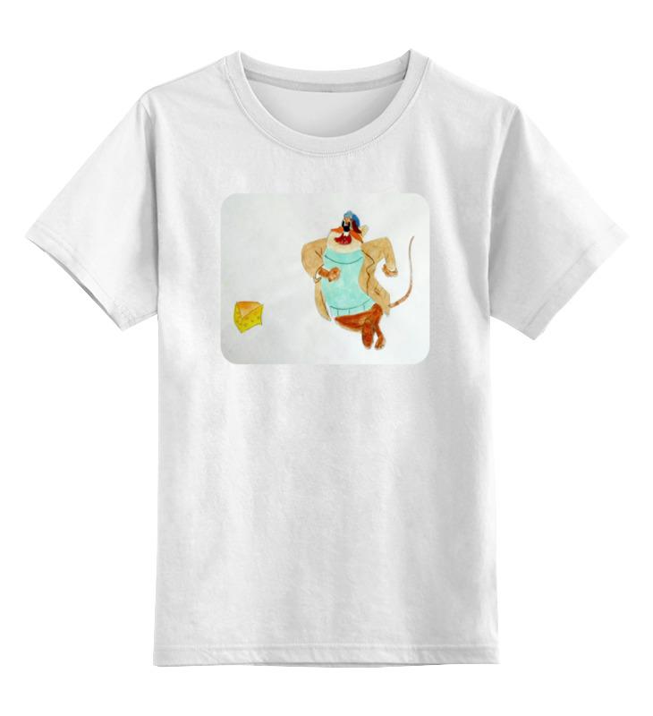 Детская футболка классическая унисекс Printio Любитель сыра столяр любитель