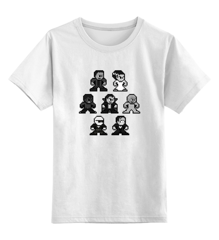 Детская футболка классическая унисекс Printio Семейка аддамс брошь кошачья семейка
