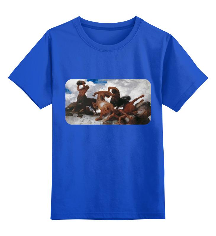 Детская футболка классическая унисекс Printio Борьба кентавров (арнольд бёклин) тетрадь на скрепке printio борьба кентавров арнольд бёклин