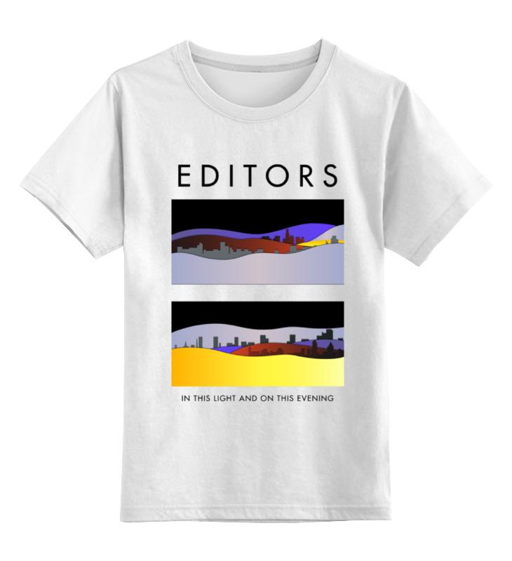 Детская футболка классическая унисекс Printio Editors