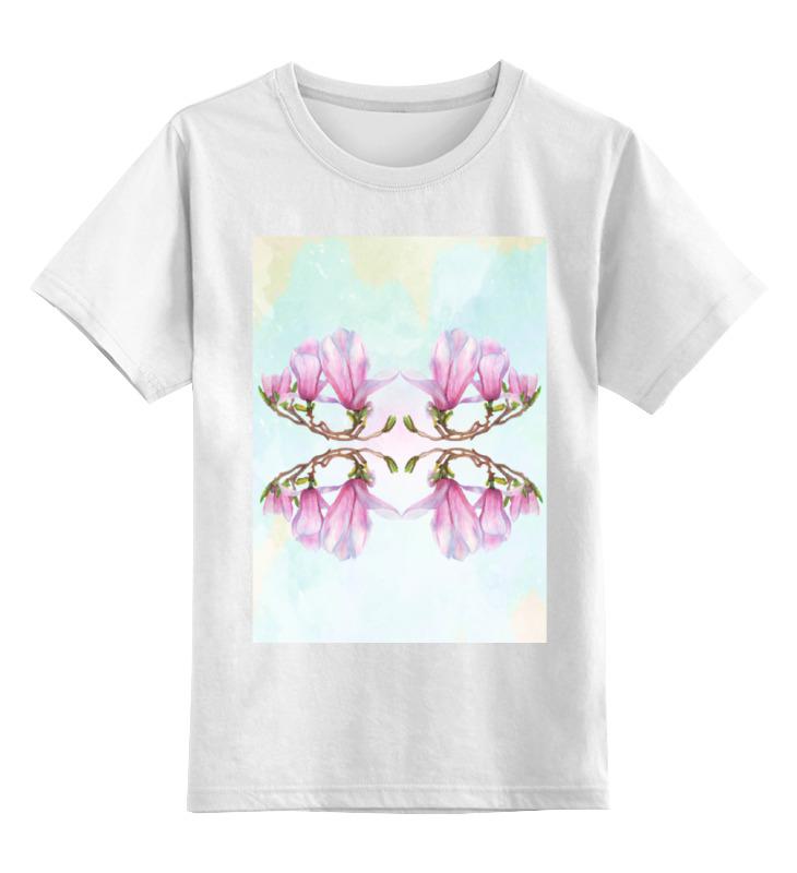 Детская футболка классическая унисекс Printio Магнолия диффузор ароматический spaas магнолия 80 мл