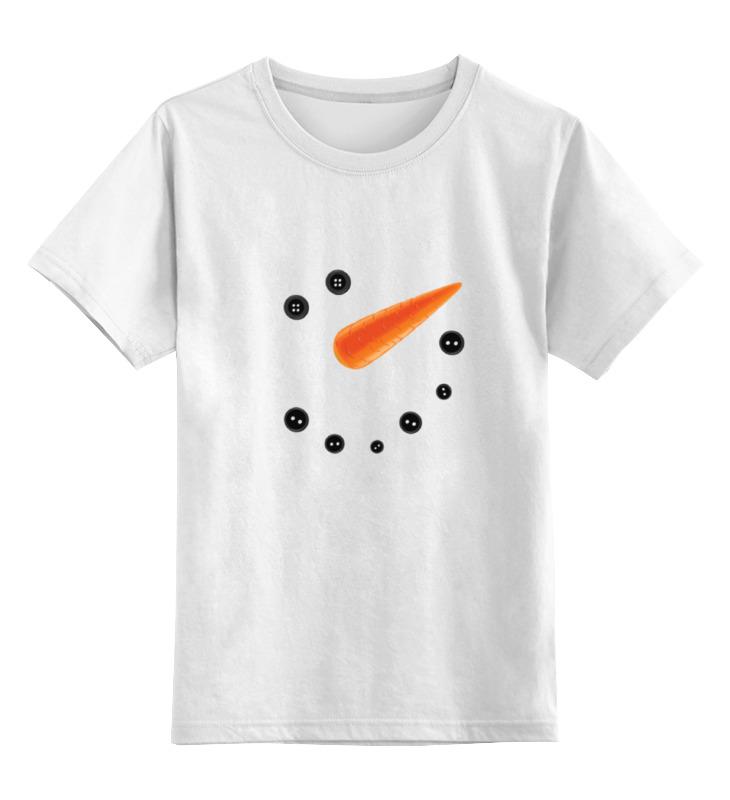Детская футболка классическая унисекс Printio Снеговик детская футболка классическая унисекс printio зимние забавы