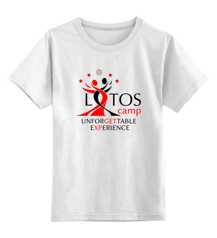 Детская футболка классическая унисекс Printio Unforgettable experience tees футболка классическая printio unforgettable experience tees
