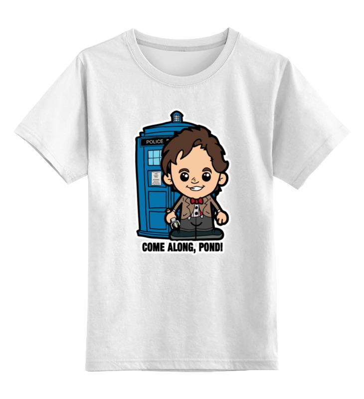 Детская футболка классическая унисекс Printio Time lord (доктор кто) чехол для iphone 6 глянцевый printio time lord doctor who
