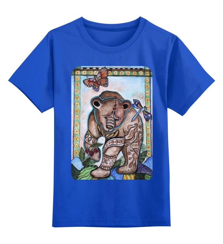 Детская футболка классическая унисекс Printio Уральский мишка