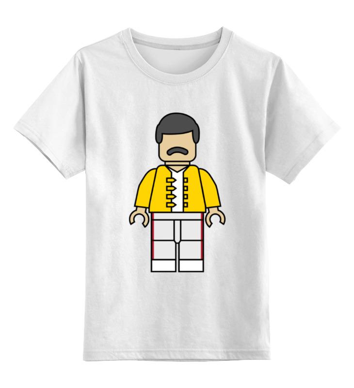 Детская футболка классическая унисекс Printio Фредди меркьюри (queen) детская футболка классическая унисекс printio фредди меркьюри