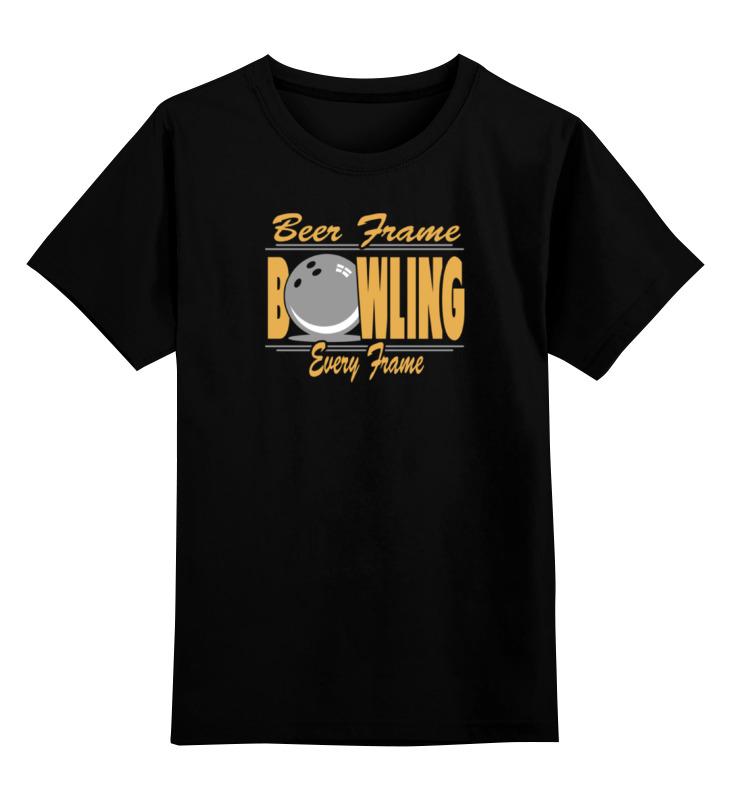 Детская футболка классическая унисекс Printio Боулинг дисней disney боулинг боулинг мультфильм ребенка образовательные раннего детства детские игрушки спортивный костюм ad66035 q