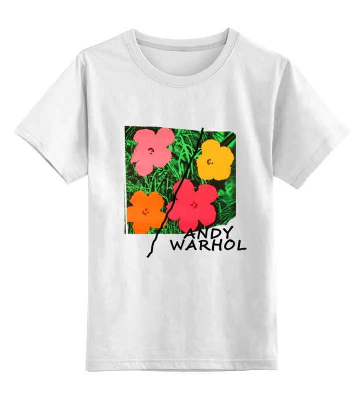 Детская футболка классическая унисекс Printio На лугу