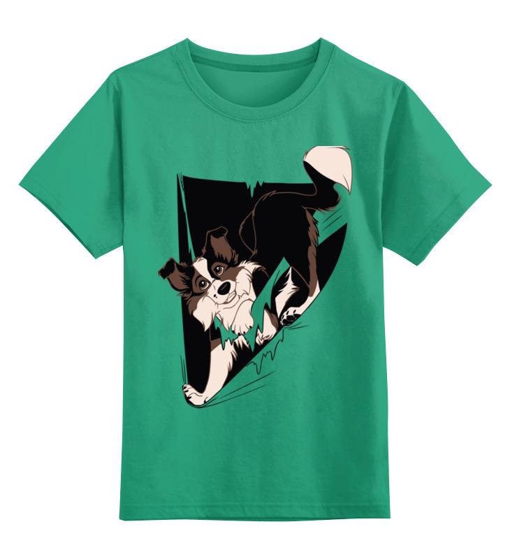 Детская футболка классическая унисекс Printio Собака детская футболка классическая унисекс printio hank moody хэнк муди californication