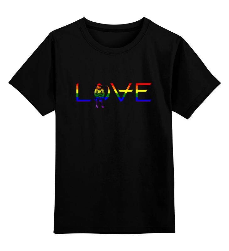Детская футболка классическая унисекс Printio Love for orlando