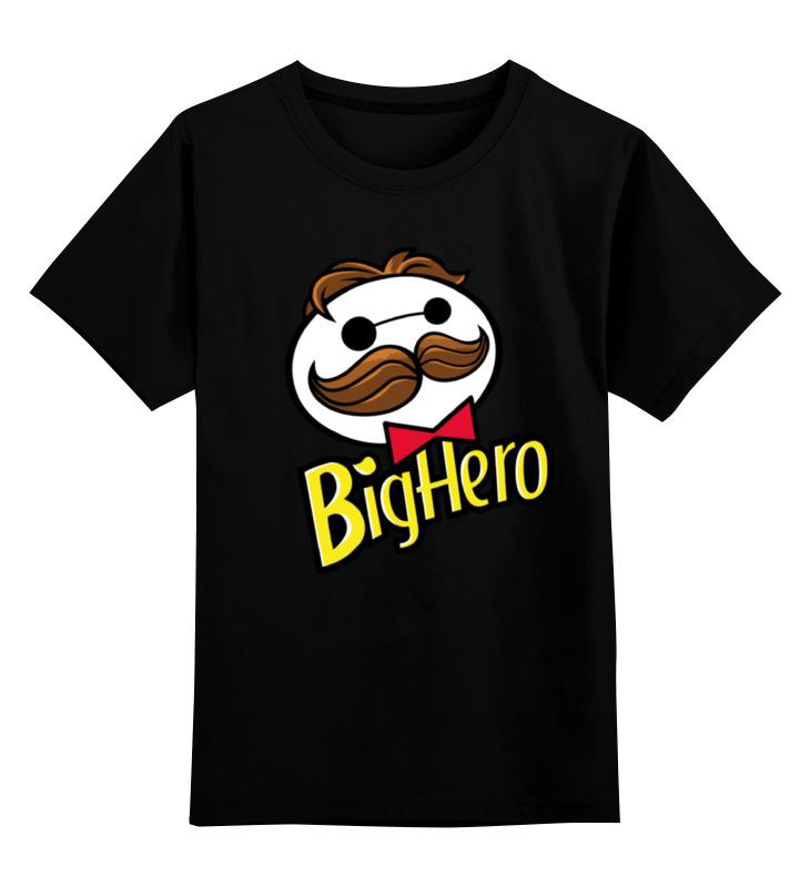 Детская футболка классическая унисекс Printio Город героев х принглс цена