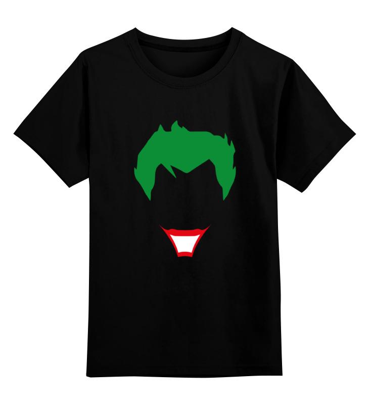 Детская футболка классическая унисекс Printio Joker (джокер) детская футболка классическая унисекс printio joker