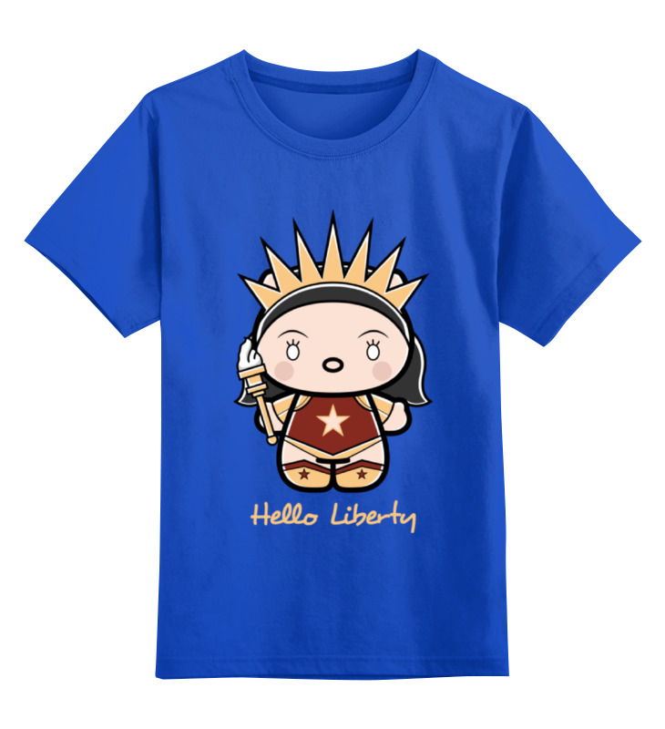 Printio Hello liberty детская футболка классическая унисекс printio liberty training