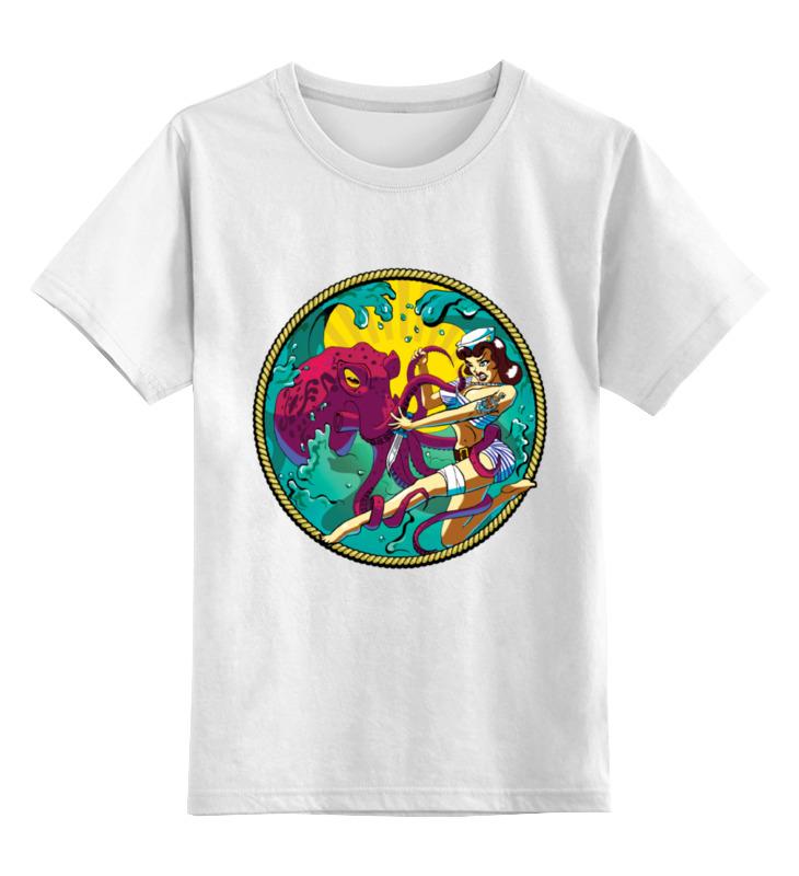 Детская футболка классическая унисекс Printio Octopus детская футболка классическая унисекс printio оранжевое солнце