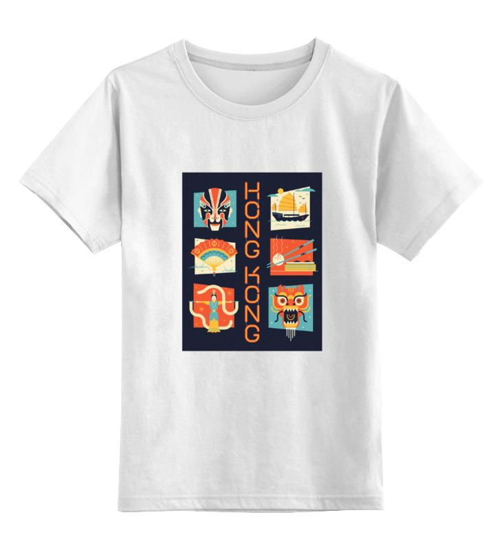 Детская футболка классическая унисекс Printio Гонг-конг 2 майка классическая printio гонг конг 2