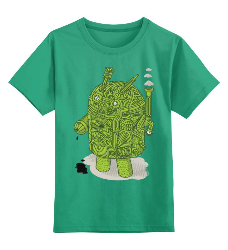 Детская футболка классическая унисекс Printio Android детская футболка классическая унисекс printio классическая футболка dota 2