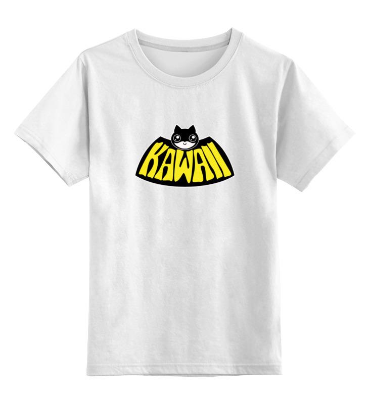 Детская футболка классическая унисекс Printio Kawaii x batman