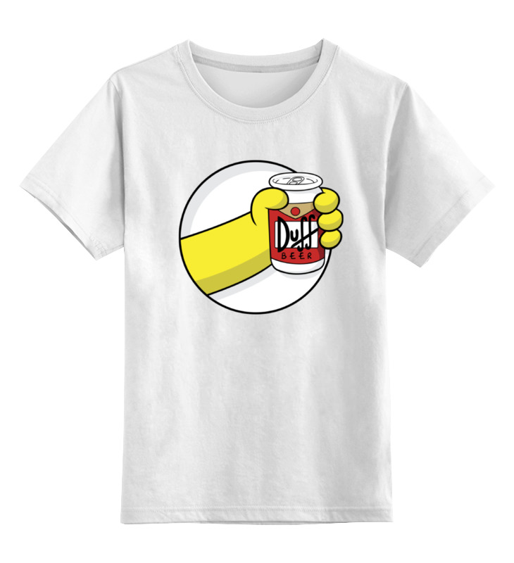 Детская футболка классическая унисекс Printio Пиво дафф (duff beer) сумка printio duff beer