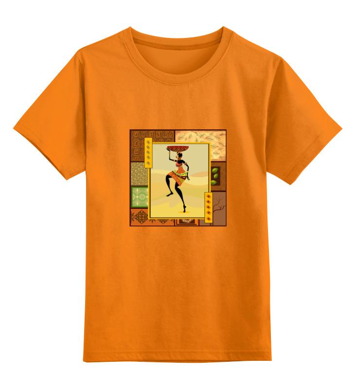 Детская футболка классическая унисекс Printio Африка 4