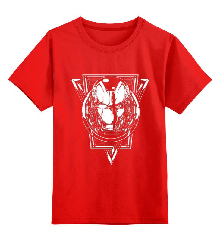 Детская футболка классическая унисекс Printio Iron man smoby детская горка king size цвет красный