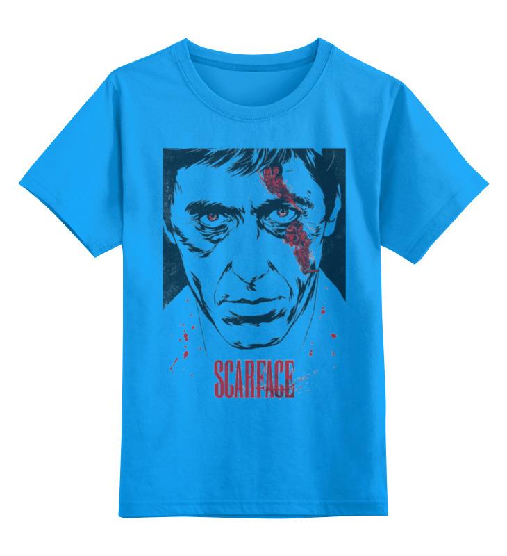 Детская футболка классическая унисекс Printio Scarface футболка wearcraft premium printio тони монтана лицо со шрамом