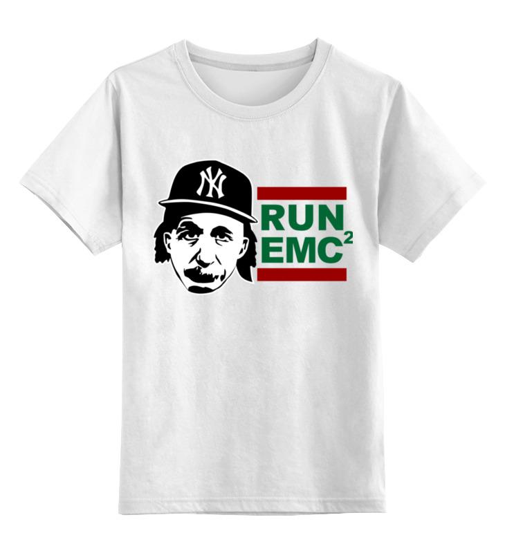 Детская футболка классическая унисекс Printio Run emc