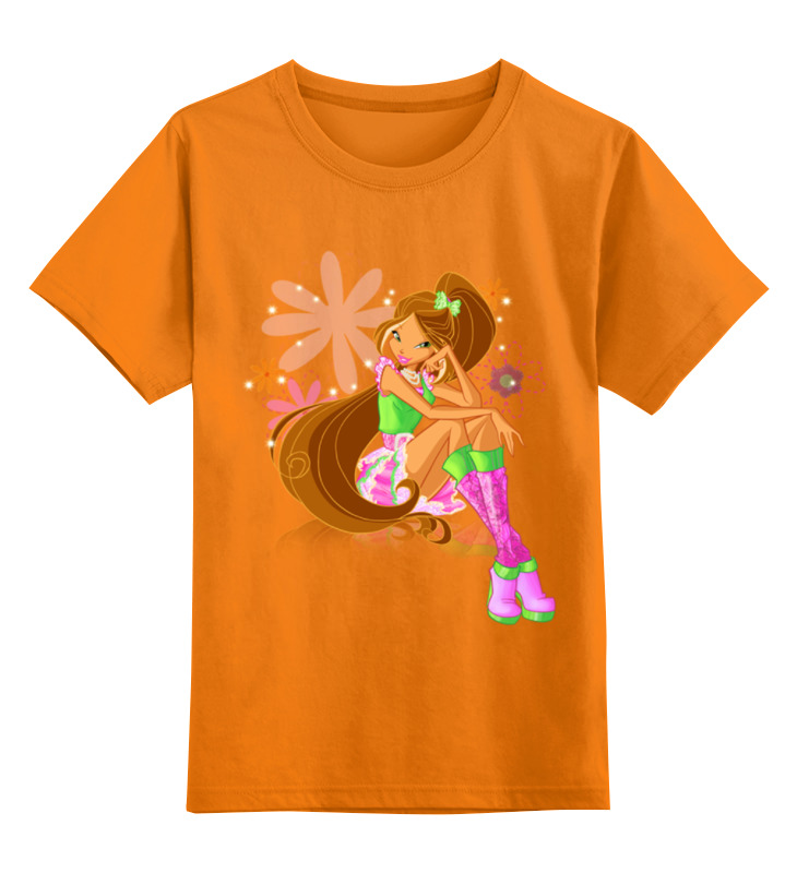 Детская футболка классическая унисекс Printio Winx club портьера детская winx персиковый