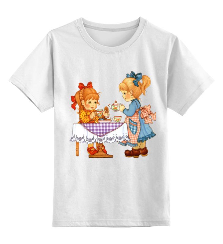 Детская футболка классическая унисекс Printio Мы  подружкаю вдвоём...