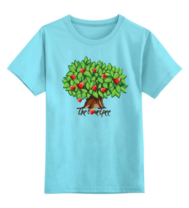 Детская футболка классическая унисекс Printio Icalistini the love tree дерево любви майка print bar дерево любви