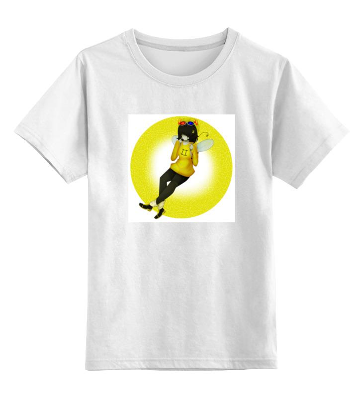 Детская футболка классическая унисекс Printio Homestuck sollux captor футболка классическая printio один дома
