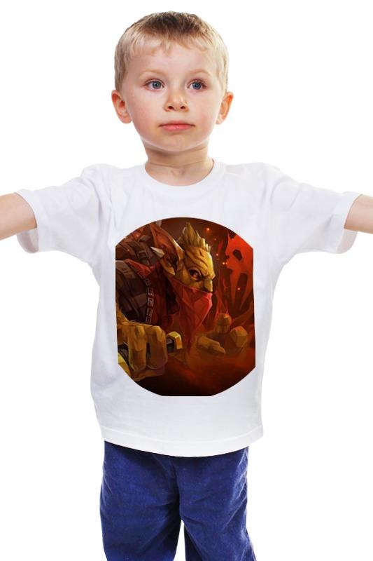 Детская футболка классическая унисекс Printio Dota 2 - bounty hunter футболка классическая printio 62 2% в саратове