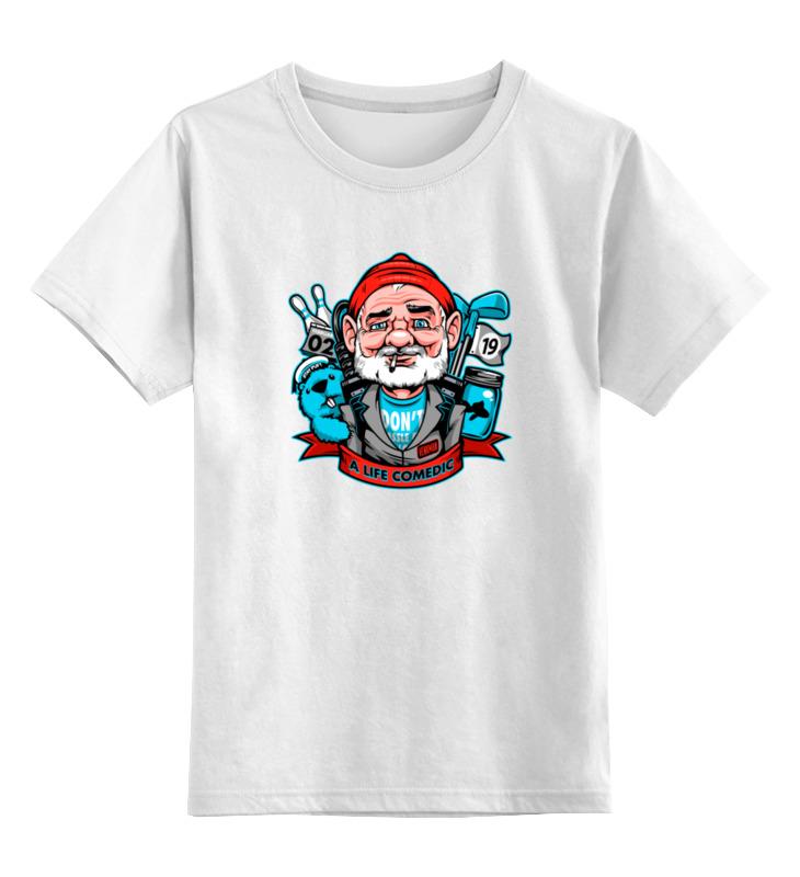 бейрд мюррей кэтлин ральф лорен Детская футболка классическая унисекс Printio Билл мюррей